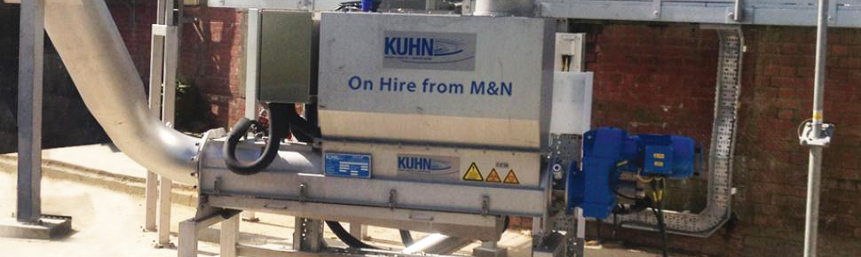 Kuhn unit on hire from M and N